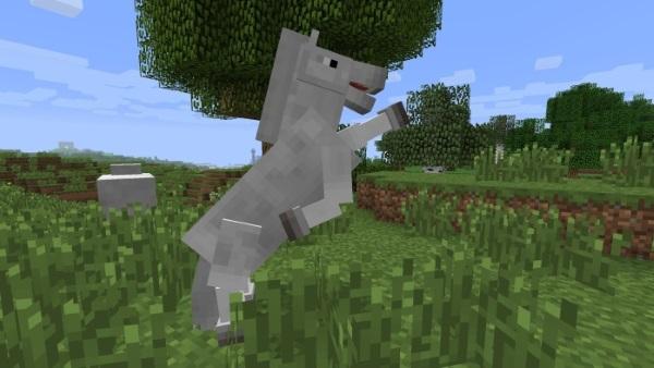 прыжок лошади