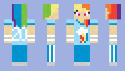 Женские скины для Minecraft