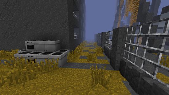 Карта ЧАЭС для Minecraft