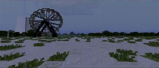 Карта Чернобыль для Minecraft